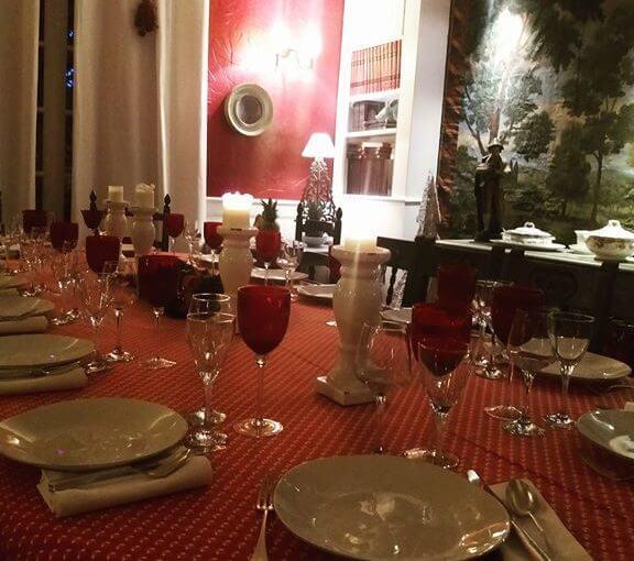 Repas de fin d'année ou une occasion à célébrer en famille ?! Pensez à réserver…