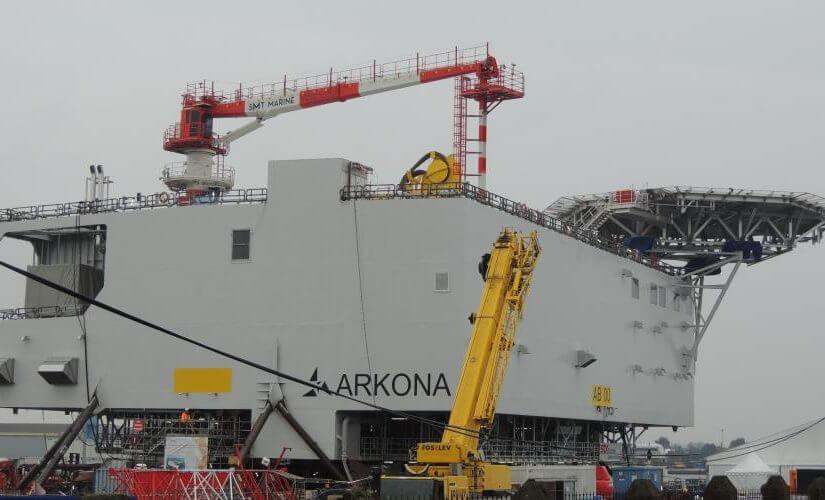 Saint-Nazaire. EDF choisit STX pour ses trois parcs éoliens