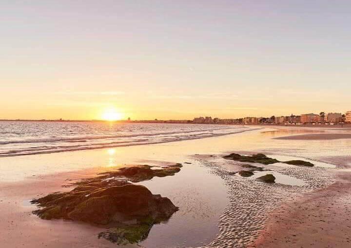 La nature nous réserve de belles surprises, ce coucher de soleil sur Pornichet e…