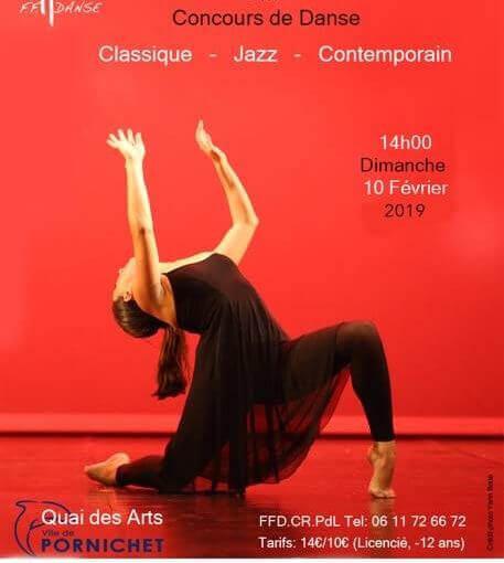 Ne loupez pas le Grand Concours Régional de Danse de la FFDANSE à QUAI DES ARTS,…