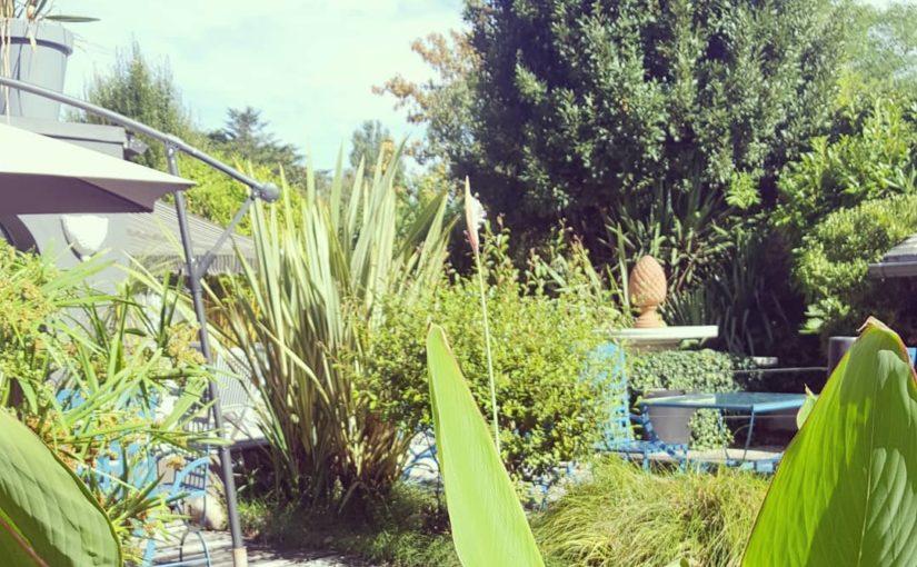 Un petit rayon de soleil entre deux averses.  #pornichet #hotelsudbretagne #baie…